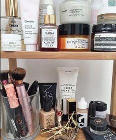 Beauty shelfs.