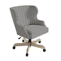 Suzanne Kasler Carson Desk Chair with Pewter Nailheads