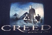 Creed vintage concert t-shirt from 2002 Weathered tour. You had to have been there to get your hands on this t-shirt.