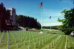 Aisne-Marne American Cemetery and Memorial, Northern France