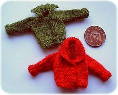 1:12th scale Childrens cardigans