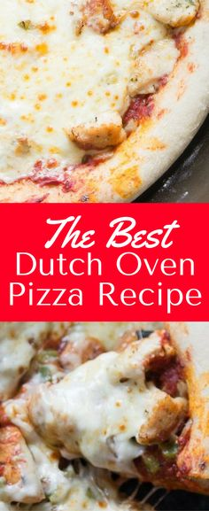 This is the best dutch oven pizza recipe around - it's perfect for camping or in the backyard. Outdoor pizza is DELICIOUS! Dutch Oven Pizza, Best Dutch Oven, Dutch Oven Cooking, Dutch Oven Recipes, Pizza Recipes, Easy Dinner Recipes, Easy Meals, Cooking Recipes, Cooking Time
