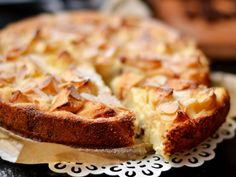 Almás-grízes-túrós süti | Nor receptje - Cookpad receptek Hungarian Recipes, Sweet Pastries, Cinnamon Apples, Coffee Cake, Banana Bread, Sweet Treats, Sweets, Baking, Breakfast