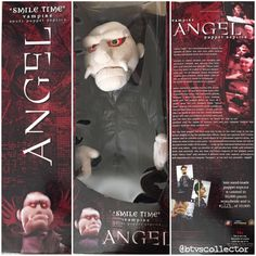 "Diamond Select Toys - Angel ""Smile Time"" Vampire Angel Puppet Prop Replica. 1358/10000. #btvscollector #btvs #buffy #buffythevampireslayer"