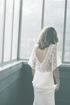 Donatelle Godart, robes de mariées sur-mesure made in France, interview par French Mômes