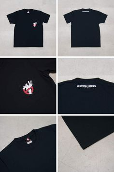 "Ghost Busters ""Michael C. Gross Logo-II"" 7.1oz米綿丸胴オールドプリントクルーネックポケットT / Audience - 【 Audience 】"