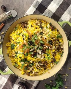 Memorable Lamb Biryani. A party of flavours and textures all combined in a one pot meal. Feast for the senses!