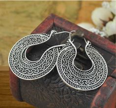 """Select 'Visit' to shop or """"Tribal & Ethnic Earrings' to view the entire catalog"""