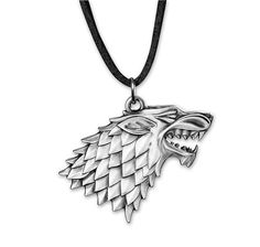 Game of Thrones Halskette Logo Stark. Hier bei www.closeup.de