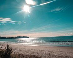 """Onetangi ("""" weeping sands """" ) Beach - Waiheke's longest beach, a great place for swimming, walking and fishing. Sands, Long Beach, Great Places, New Zealand, Fishing, Walking, Swimming, Photo And Video, Water"""