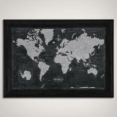 World push pin map print only travel map map poster travel world push pin map print only travel map map poster travel board wedding anniversary gift world 001 pinterest travel maps office spaces and gumiabroncs Gallery