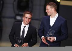 Soccer players in suits? *heart melting #PhilippLahm #ManuelNeuer