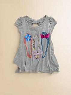 Kiddo - Toddlers & Little Girls Shoe-Motif Top - Saks.com