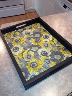 Re-vamped serving tray