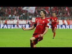 Robert Lewandowski scores five goals in 9 minutes | Bayern Munich vs. Wolfsburg - YouTube