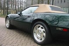 Corvette parked Corvette For Sale, Software Development