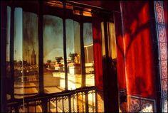 Gueorgui Pinkhassov  SPAIN. Andalucia. Sevilla. Balcony of a hotel. 1993.