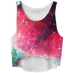 be3112e63715 Ruby Gradient Galaxy Printed High Low Fashion Ladies Crop Top Kleider, Rosa  Crop Top,