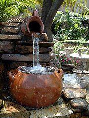 M s de 1000 ideas sobre decoraciones de jard n en for Decoracion de jardin con ollas de barro