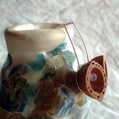 Sterling silver almond shell earrings. Rose quartz earrings. Chalcedony earrings. Almond Shell, Almond Nut, Shell Earrings, Rose Earrings, Stud Earrings, Silver Pearl Ring, June Birth Stone, Birthstone Jewelry, Artemis