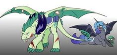 Size: 1302x613 | Tagged: alicorn, alicorn oc, armor, artist:bronyofgalifrey9, artist:kilala97, bat pony, bat pony alicorn, blood, colored, floppy ears, glare, gritted teeth, growling, injured, oc, oc only, oc:peridot flame, oc:princess nidra, oc:turquoise blitz, offspring, offspring's offspring, open mouth, pregnant, prone, safe, scared, shipping, sparity, spread wings, straight, wide eyes