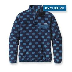 Patagonia Women's Synchilla® Lightweight Snap-T® Fleece Pullover