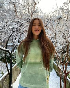Mabel Chee, Lily Chee, Love Lily, Sweater Weather, Curly Hair Styles, Tie Dye, High Neck Dress, Female, Celebrities