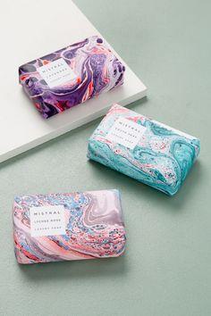 Slide View: Mistral Lavender Bar Soap by lorrie