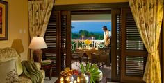 Honeymoon Orchid Oceanview Poolside One Bedroom Butler Villa at Sandals Grande Riviera in Ocho Rios, Jamaica