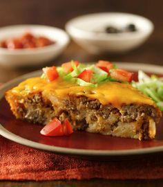 Enjoy the great taco flavor of this easy main-dish pie!