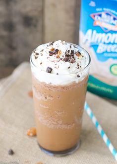 Summer-vegan-Almond-Breeze-Almond-Milk-mocha-frappuccino #ad