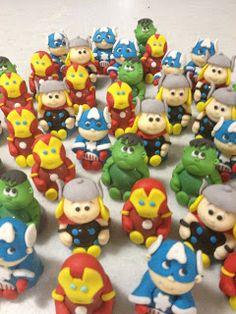 Pati Fernandes - Confeitaria Artística: Os Vingadores - The Avengers