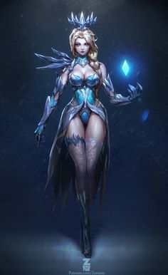 Dark Elsa by Zeronis | Paul Kwon *