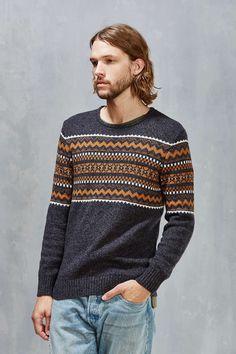 O Hanlon Mills Skybreak Pattern Sweater 85c64d1bd