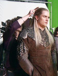 His face like:,,I will not looks at him. Tolkien Hobbit, Legolas And Thranduil, O Hobbit, Aragorn, Balrog Of Morgoth, Bloo Me, Orlando Bloom Legolas, Elven Costume, Lotr Elves