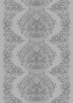 Clementiini | Vallila Interior harmaa Fabric Design, Pattern Design, Marimekko, Scandinavian, Curtains, Texture, Black And White, Prints, Inspiration