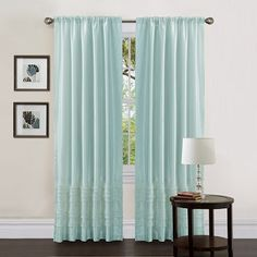 Everything Turquoise: Window Coverings