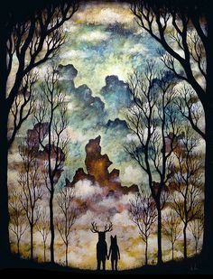 Together at the Threshold (by andy kehoe)