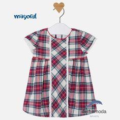 Vestido de bebe MAYORAL newborn cuadros escoceses Μόδα Για Κοριτσάκια 8b8db148c3b