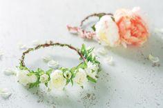 Valentine's Day Floral Headdress