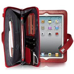 Holds everything and the ipad too cool for words!