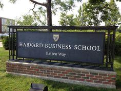 Harvard Business School in Boston, MA School Signage, Life After High School, Middle School, College Aesthetic, Foto Real, Harvard Business School, School Motivation, Harvard University, School Photography