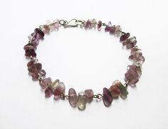 New bracelet model Grape. Silver 950 and naturals stones Fluorite. #HandMade