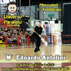 #Perugia per la prima volta grazie al maestro edoardo antolini le arti marziali arrivano in radio! - http://www.radiophonica.com/universo-parallelo