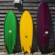 "DEUS japan surfboards. Model : Hornet 5'11"" 4ce.  The fish 5'10"" twin. Machupichu 7'01"" single. Shaped by @tappyyoshikawa  Glasses by @tetsu_cast  Finished by @ryo_nishikawa  #deus #deusexmachina #deusjapan #deusresidence #tappyshape #tappyworkers #fish #quad #single"