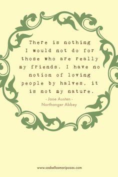 Northanger Abbey - Citazioni
