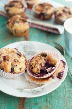 ... Abroad: Blueberry Lemon Yogurt Muffins with Cinnamon Sugar Topping