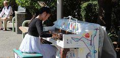 A public piano in Richmond.