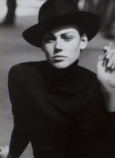 shirley mallmann by peter lindbergh for vogue italia 1997