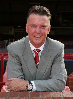 @manutd manager Louis van Gaal.